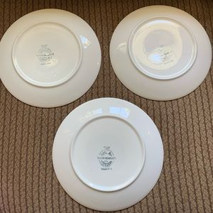 Vintage Dining - Vtg MCM Taylor Ironstone Green Span Dishes 3
